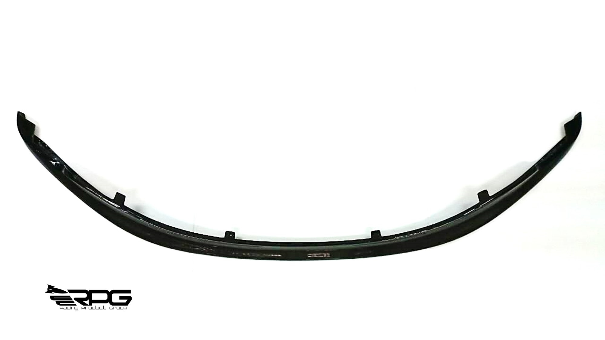 E90 E92 Gts Gt3 Frp Black Front Lip With Mounting Tap