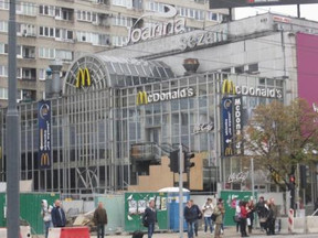 The McDonalds in Warsaw