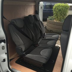 Car Seat Desk Chair Conversion Black And White Covers For Weddings Van Conversions Fastfit Midlands