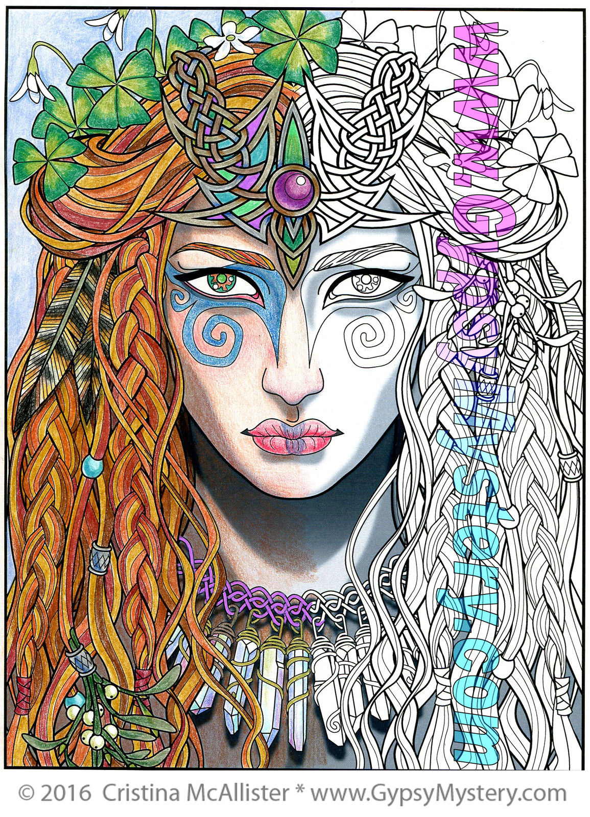 Cristina Mcallister Coloring Page Gallery