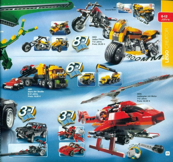 Lego Catalog 2001 Year Of Clean Water