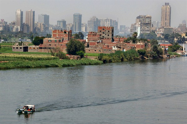 How Egypt Is Slowly Losing Its Hold Over the Nile River
