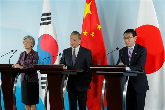 China Japan And South Korea Cautiously Look To Renew Their