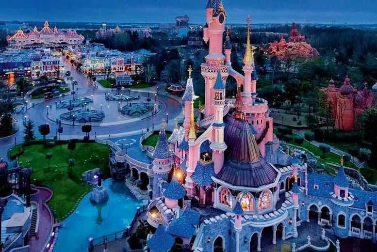 Disneyland Paris Voucher Eurostar  Hotel Stay 169pp