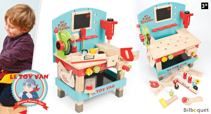 my first tool bench wooden toy le toy van