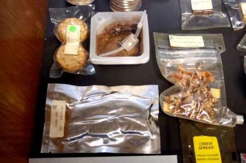 Thức ăn thông thường đã được các phi hành gia sử dụng hiện nay.