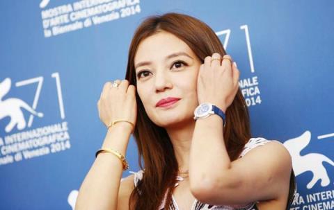 Nữ diễn viên đại lục Triệu Vi tại LHP Venice lần thứ 71