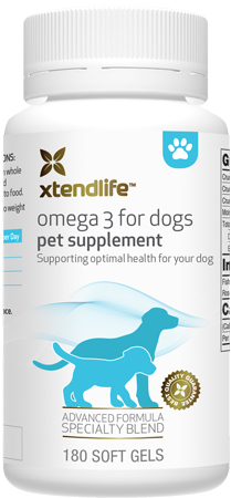 Don't let your Best Friend be left out! Omega 3 For Dogs - One of the freshest fish oils available to support optimal overall health and vitality of your dog.