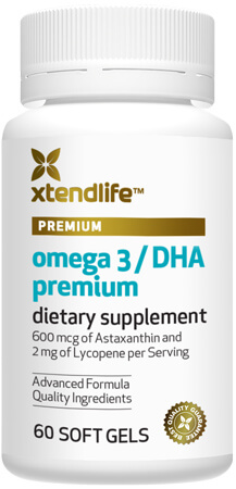 Omega 3 / DHA Premium - One of the freshest fish oils available, containing our unique antioxidant blend to support the skin against premature aging.