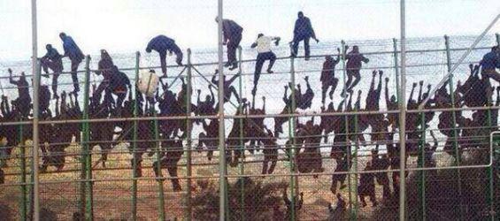 Hasil gambar untuk ceuta migrants