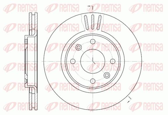Disque de frein avant-PEUGEOT 307 SW 1.6 HDI 110 109cv (3H