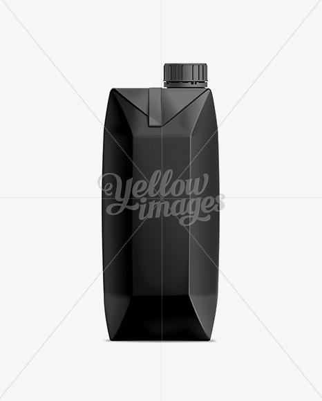 10115-preview-02 750ml Black Juice Carton with Screw Cap Mockup templates