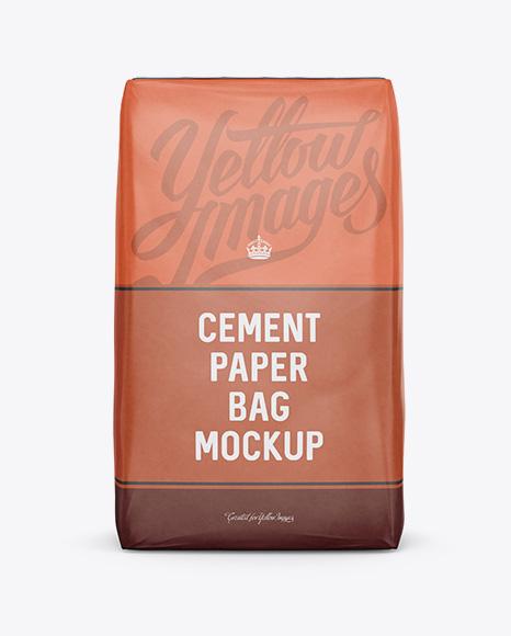 Download cement paper bag 3d mockup template bundle (1510939) today! Download Cement Paper Bag Mockup Front View Object Mockups Psd Mockups Free Download