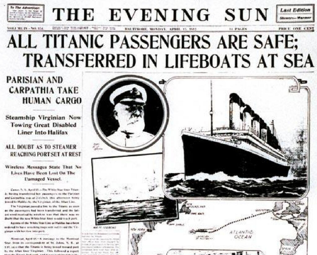 Nothing new under the sun: Newspaper reports wrong Titanic