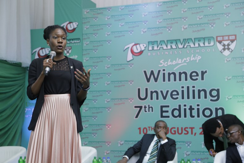 Harvard Business School , 7up, Coral Confetti , Misan Rewane