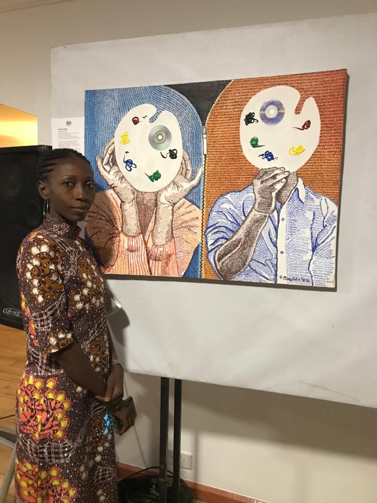 #YWomenSpecial: Painter, Clara Aden speaks on how she's using art as a voice to close the gender gap » YNaija