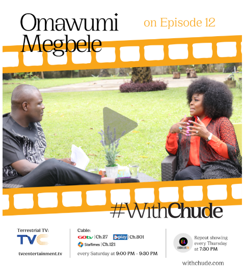 #WithChude: I was the only child out of 14 children that got pregnant out of wedlock - Omawumi shares her story on single motherhood » YNaija