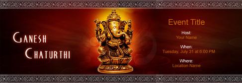 Online Ganesh Chaturathi Invitation