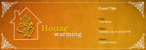 Free House Warming Invitation With India's #1 Online Tool