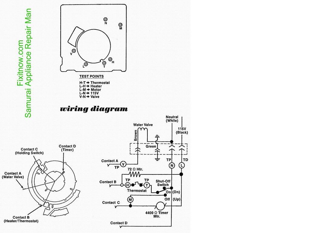 Ice Maker Wiring Diagrams | Wiring Diagram Database on