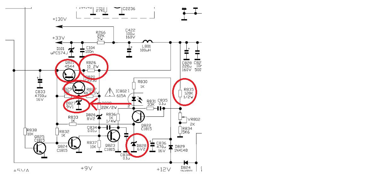 tv rca modelo 24v511t chssis m134c