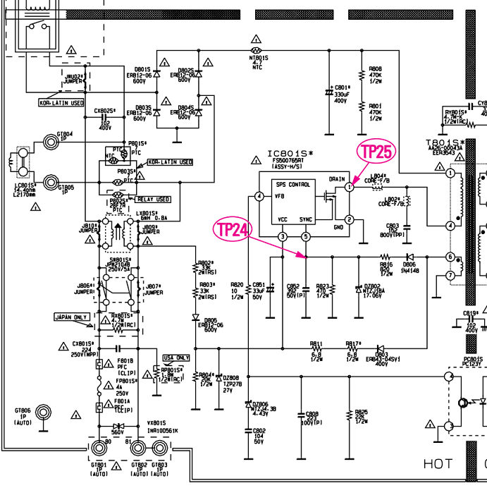 Vcr Power Supply Wiring Diagrams Power Supply Power Wiring
