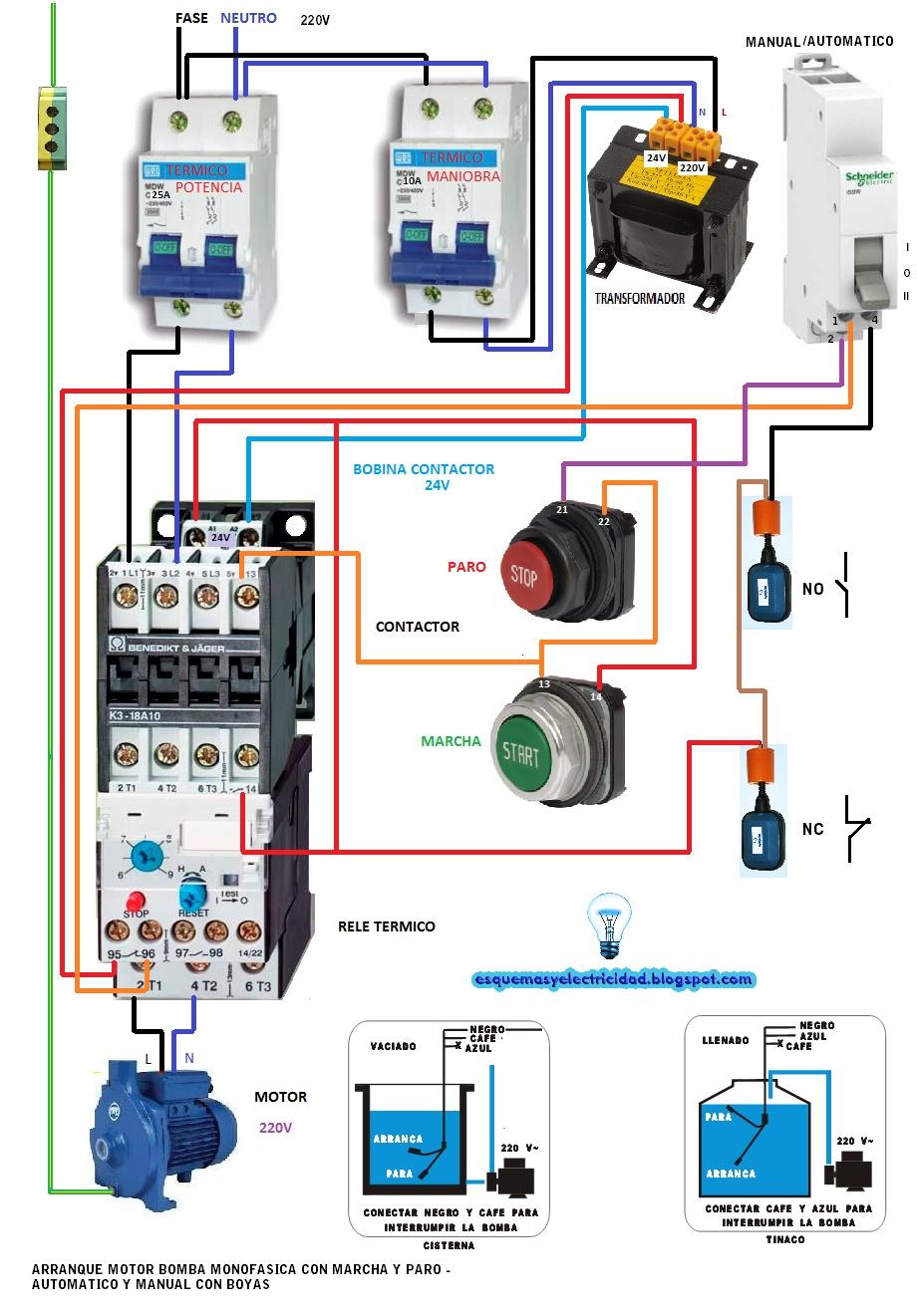 star delta control wiring diagram with timer of a car stereo solucionado: disyuntor - yoreparo