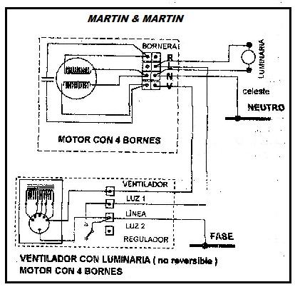 Solucionado: ventilador de techo martin 6 martin funciona