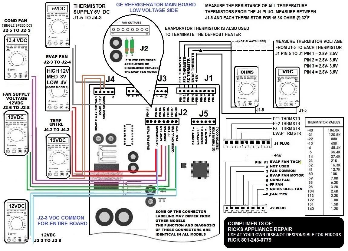 ge refrigerator wiring diagram problem accounting cash flow compresor dura dias en arrancar despues de un bajon luz