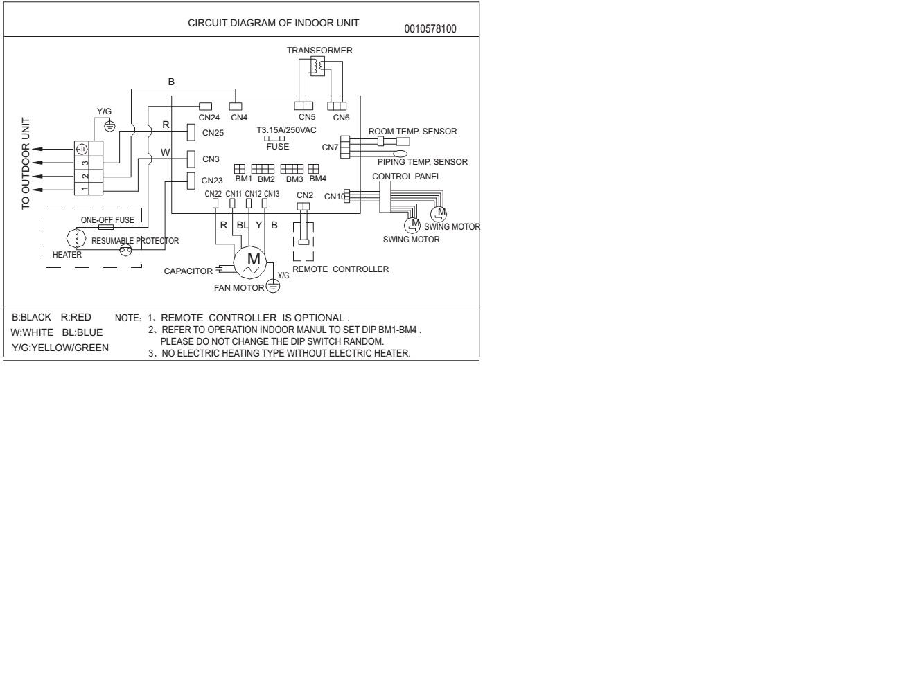 Solucionado diagrama de alimentacion electrica para split de