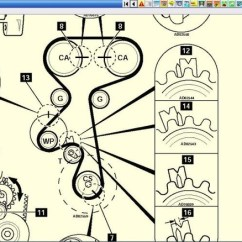 Holden Astra Timing Belt Diagram Stop Turn Tail Light Wiring Para Cambiar La Correa Del Tiempo - Yoreparo