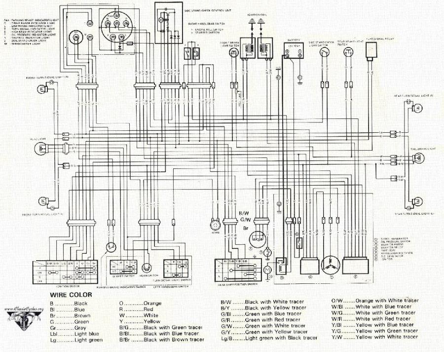 Honda Mt125 Wiring Diagram, Honda, Get Free Image About