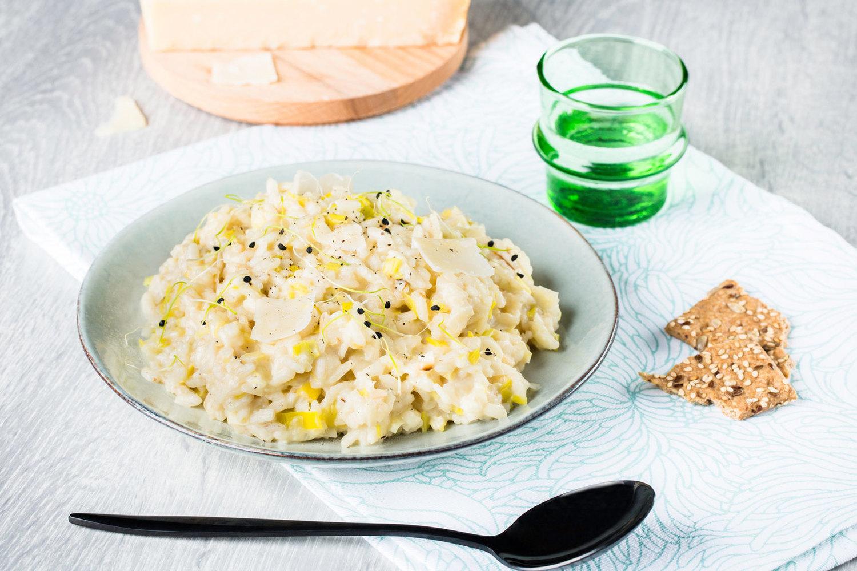 risotto leger aux poireaux au cookeo