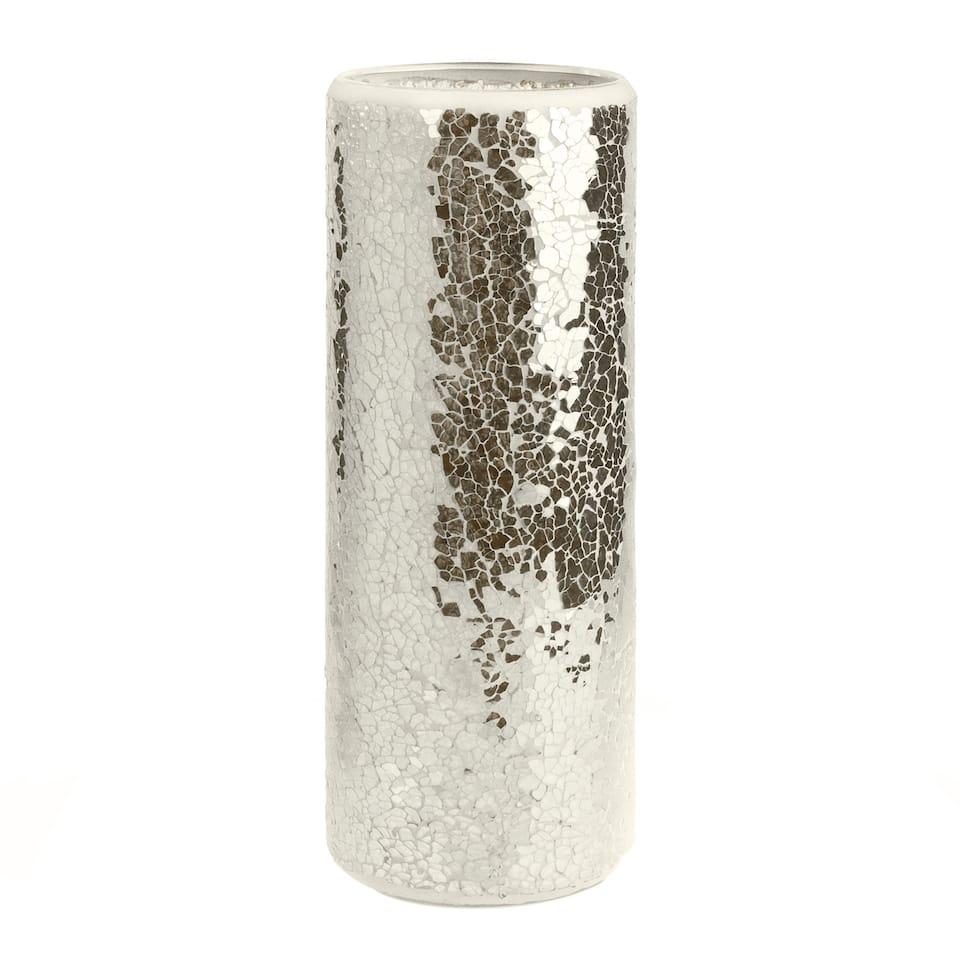 Silver Zara Vase