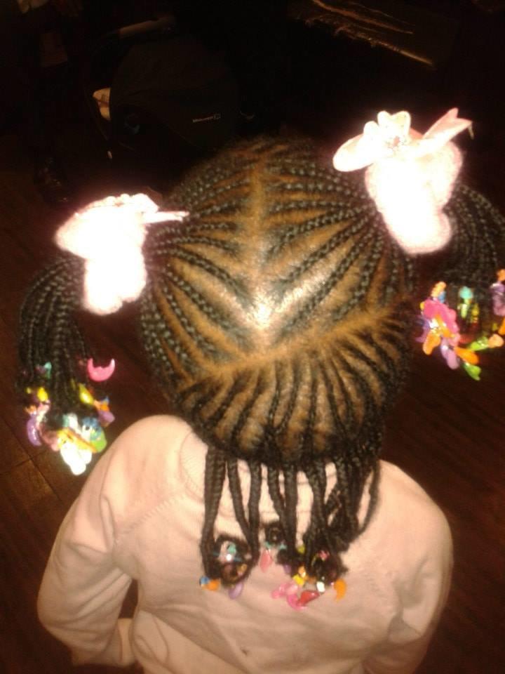 Coiffure africaines nattes tresses enfants  Ides Coiffure Afro  tresses  vanille  tissage