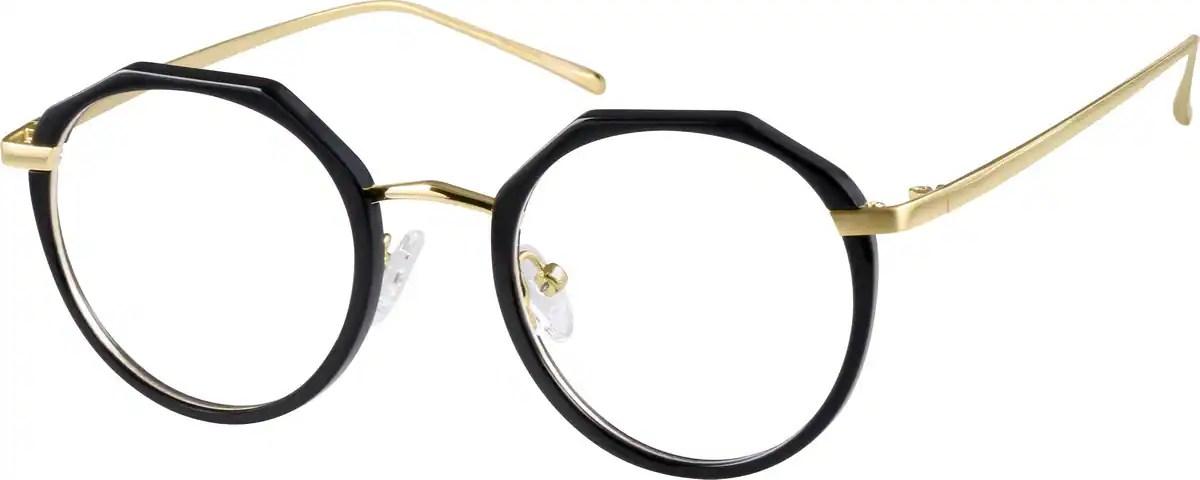 Black Round Glasses 78122 Zenni Optical Eyeglasses