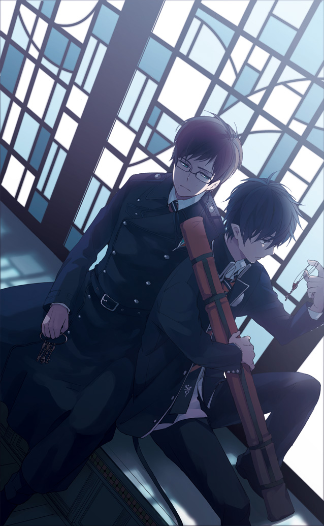 Anime Blue Exorcist Rin And Yukio