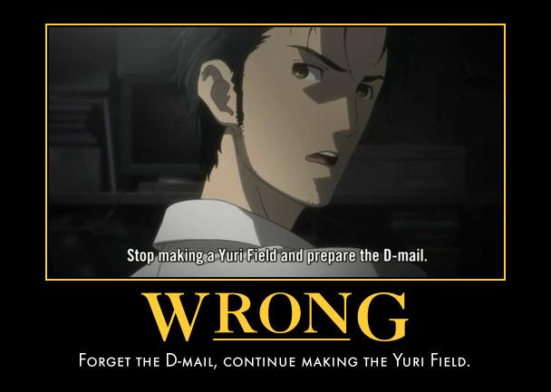 Motivational Quotes Wallpaper Download Steins Gate Demotivational Poster Zerochan Anime Image