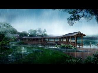 japanese scenery rain anime japan zerochan background hd wallpapers desktop nature imagenes china rainy con sojiro landscape lluvia