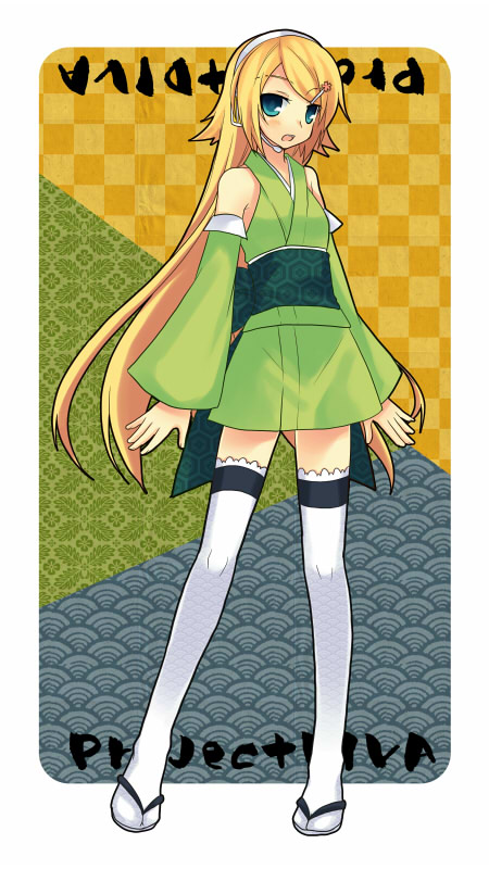 Vocaloid Anime Wallpaper Kagamine Rin Rin Kagamine Vocaloid Mobile Wallpaper