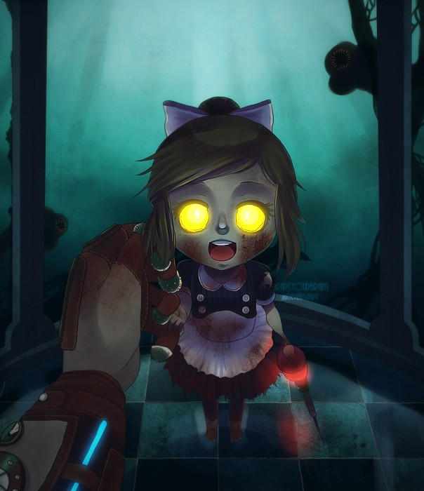 Cute Monster Wallpaper For Android Bioshock Zerochan Anime Image Board