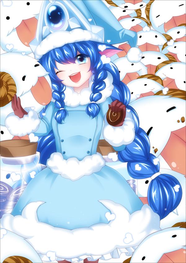 Anime Wallpaper 2014 Lulu League Of Legends Mobile Wallpaper 1705934