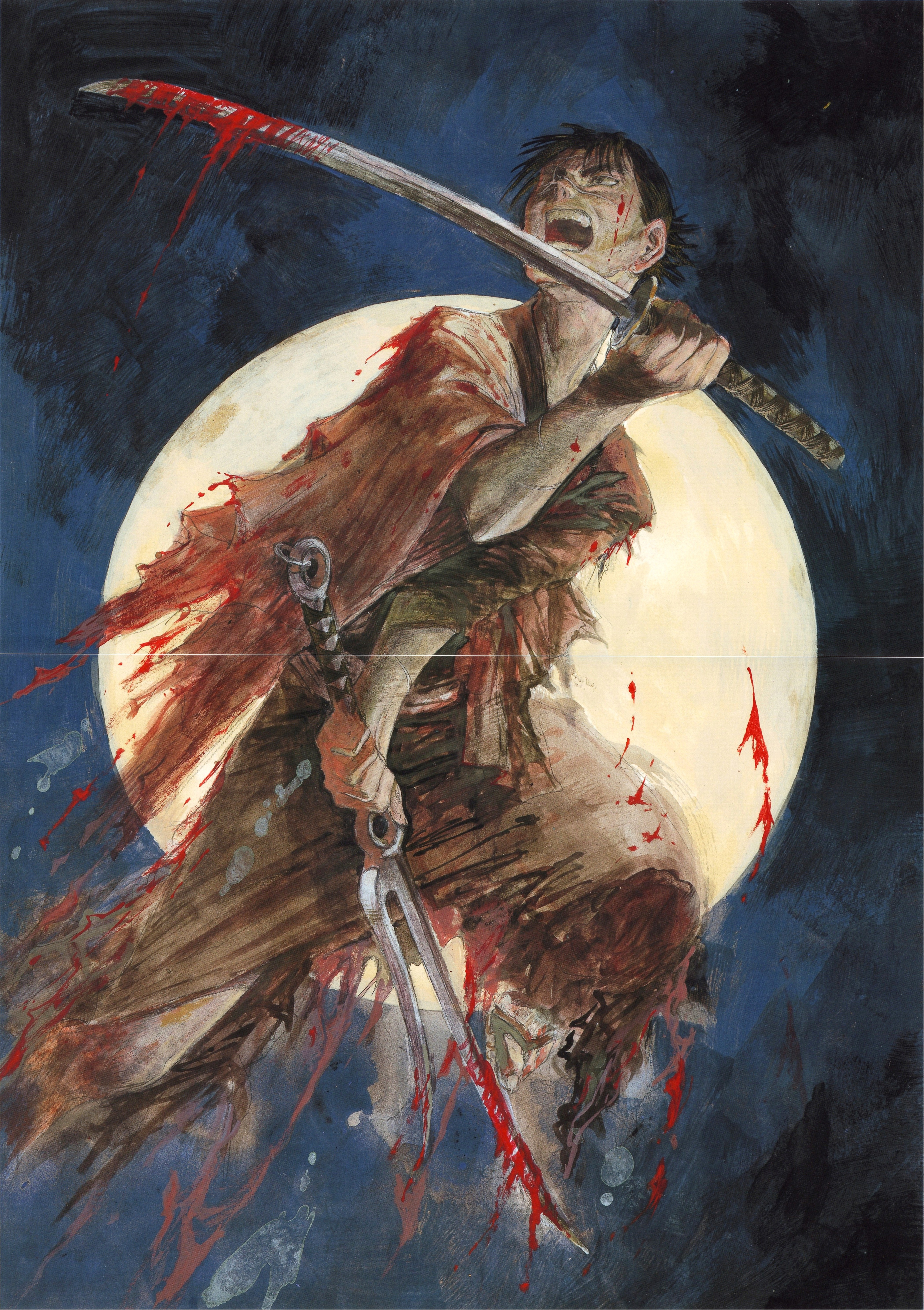 Anime Wallpaper Site Manji Character Blade Of The Immortal Image 1278415