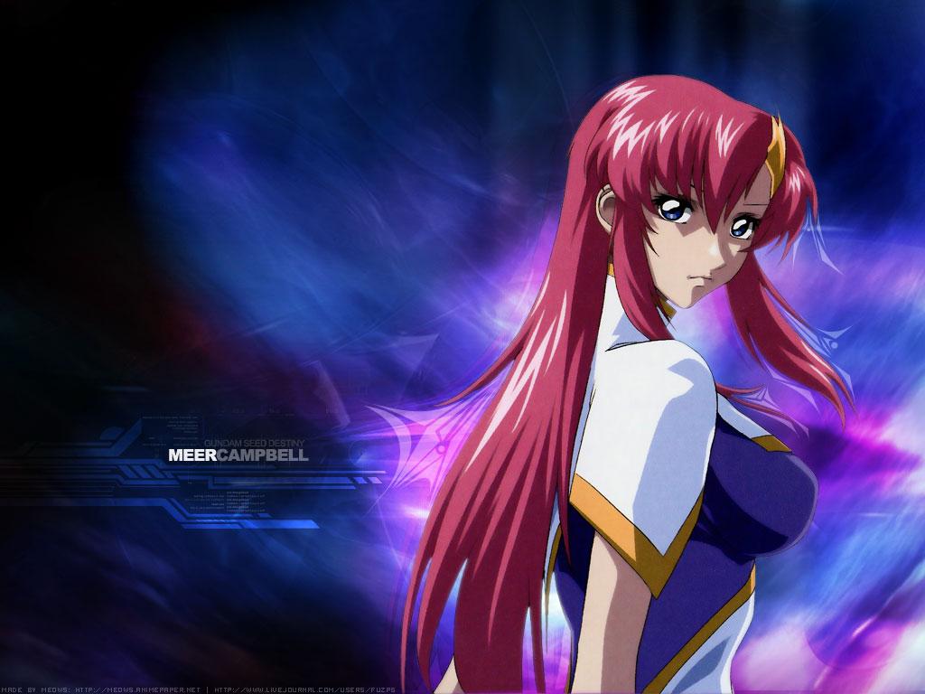 Beautiful Girl Wallpaper For Mobile Meer Campbell Mobile Suit Gundam Seed Destiny Zerochan