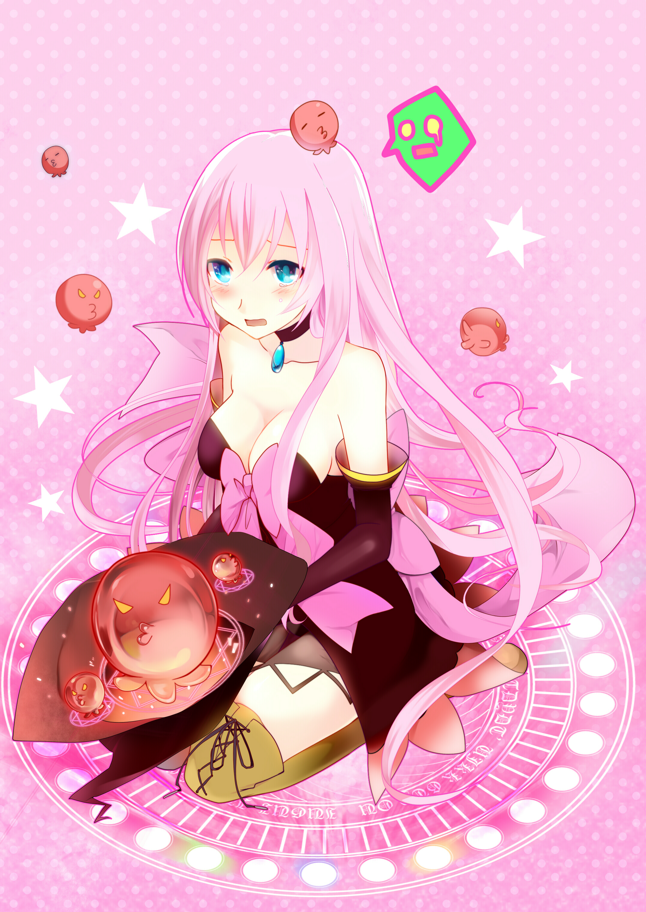 Beautiful Anime Girl Wallpaper Project Diva Witch Style Project Diva 2nd Zerochan