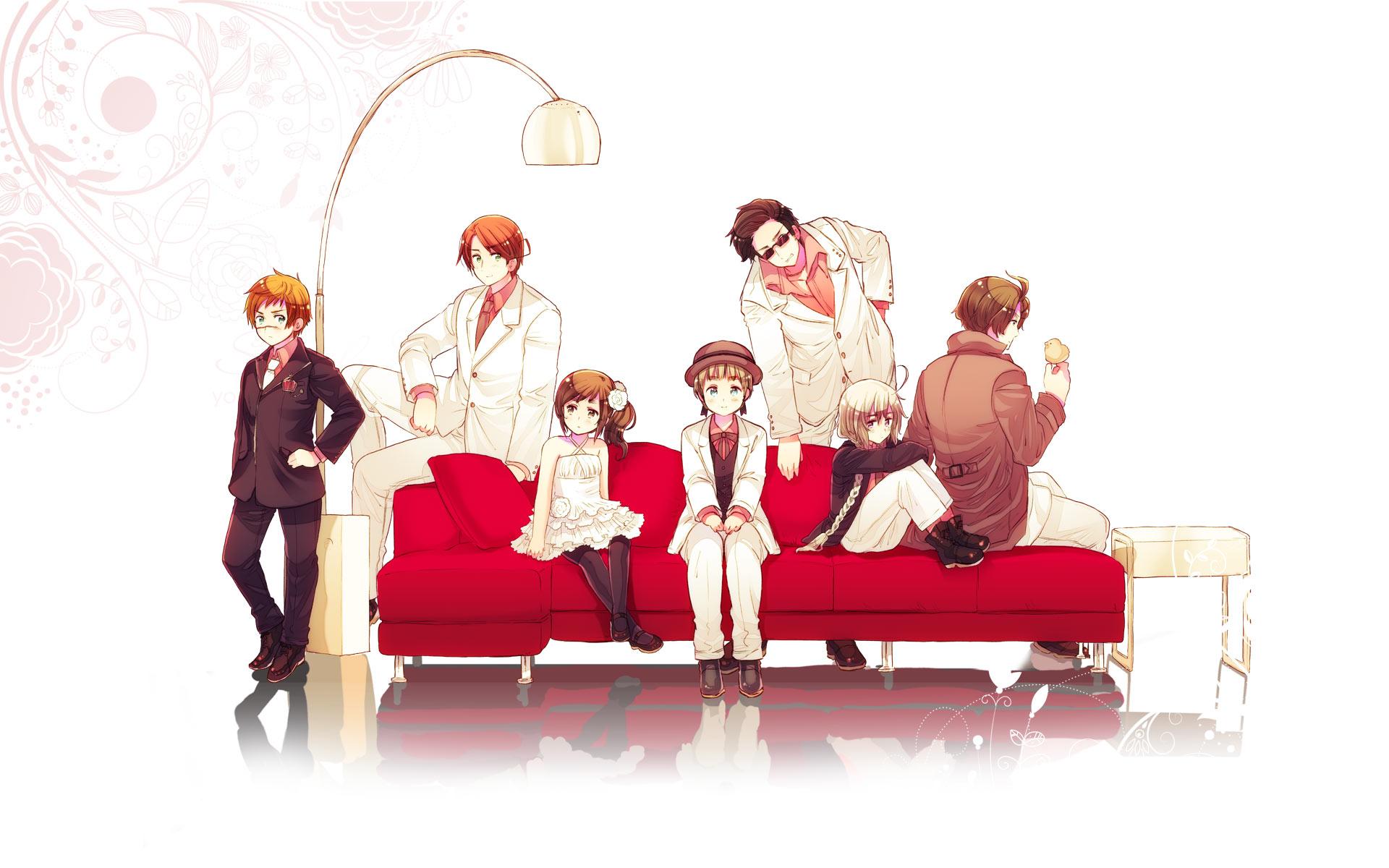 Cute Cartoon Family Wallpaper Micronations Wallpaper 898543 Zerochan Anime Image Board