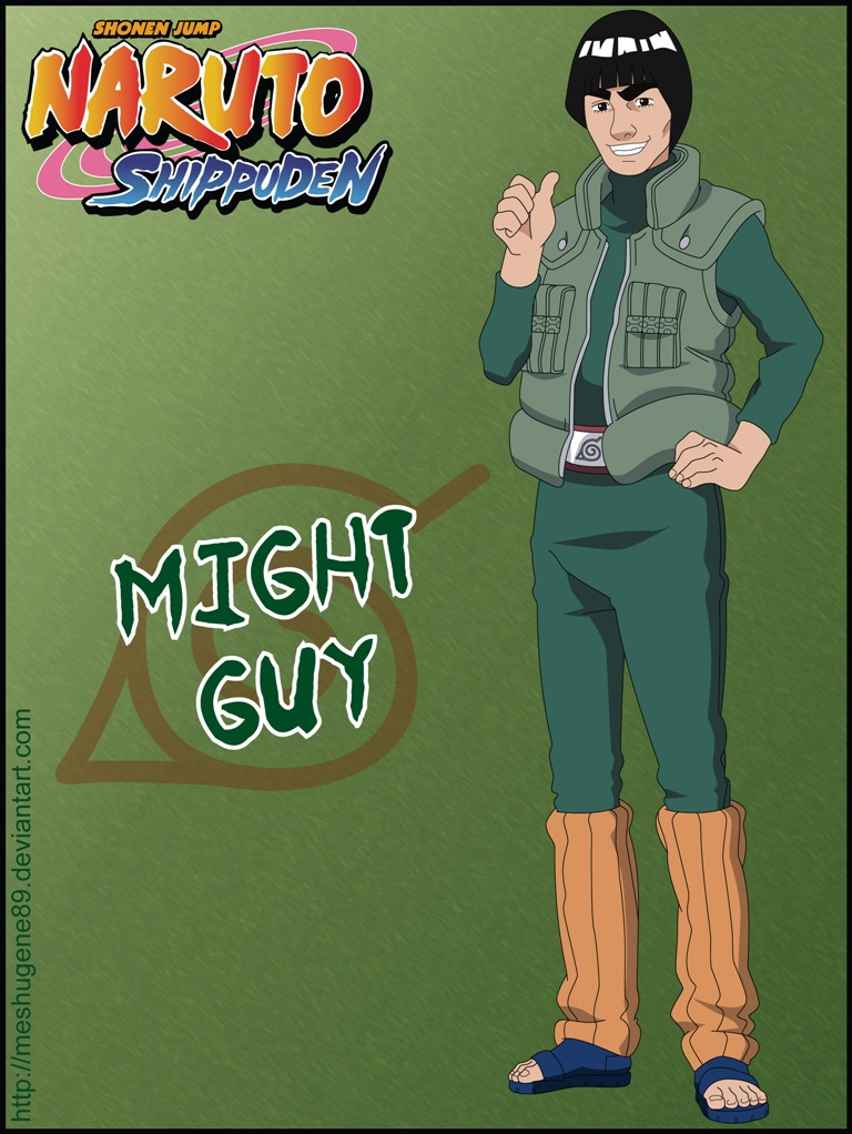 Anime Naruto Wallpaper Hd Might Guy Naruto Zerochan Anime Image Board