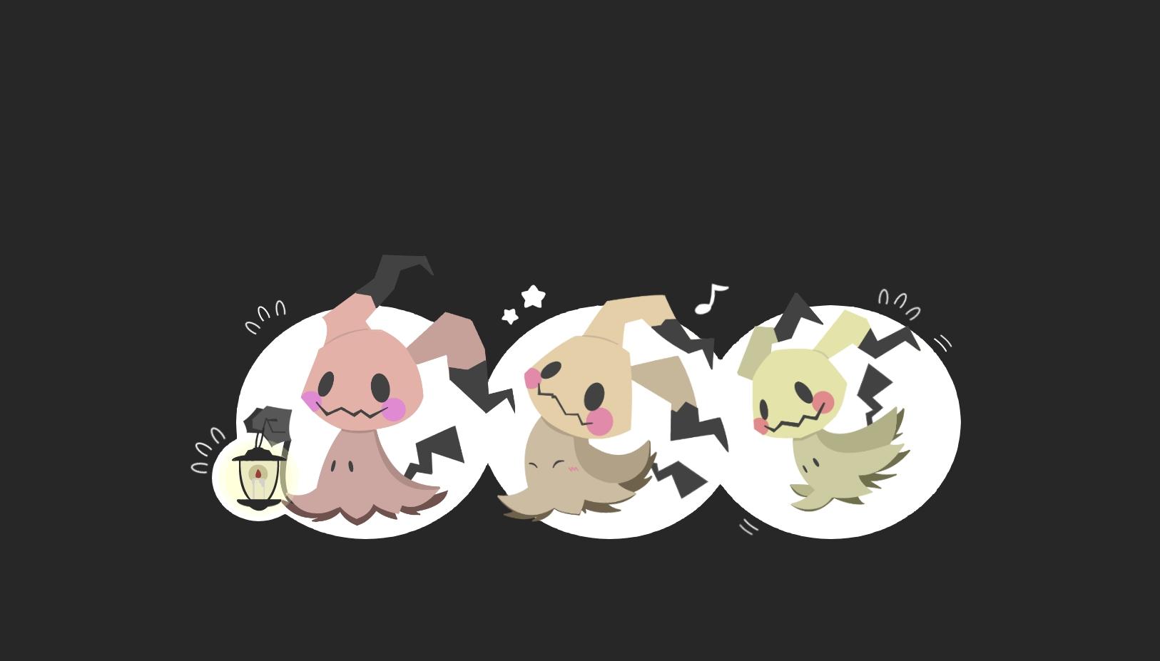 Cute Fairy Wallpapers Free Mimikyu 2021898 Zerochan