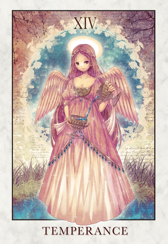 Wallpaper Anime Sword The Temperance Tarot Tarot Cards Zerochan Anime