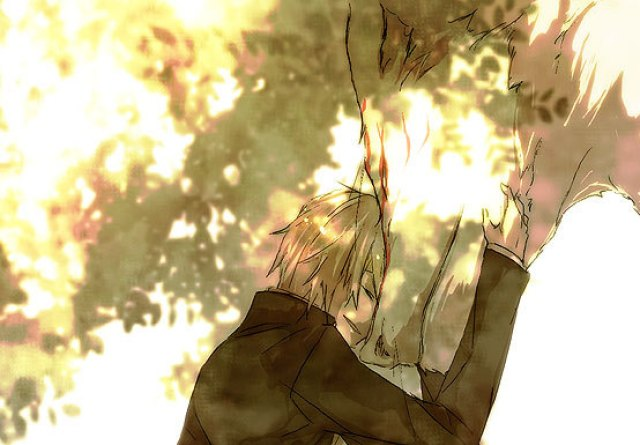 Tags: Anime, Pixiv Id 314780, Natsume Yuujinchou, Madara, Natsume Takashi, Fanart From Pixiv, Fanart, Pixiv, Natsume's Book Of Friends